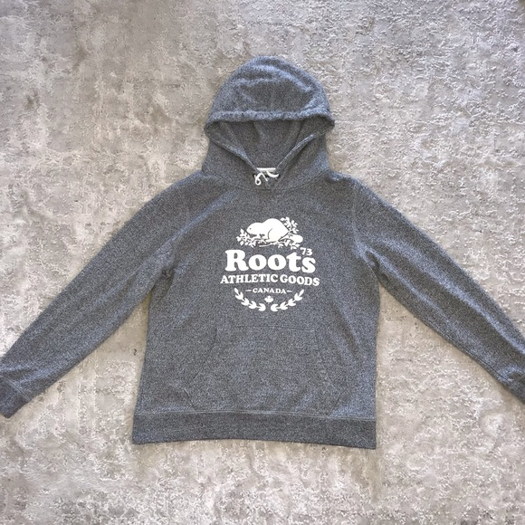 Roots Salt and Pepper Hoodie